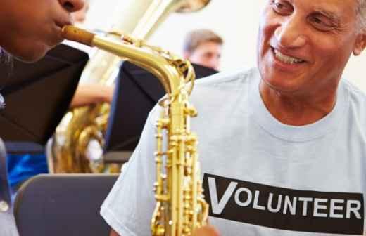 Aulas de Saxofone (para Crianças ou Adolescentes) - Notas