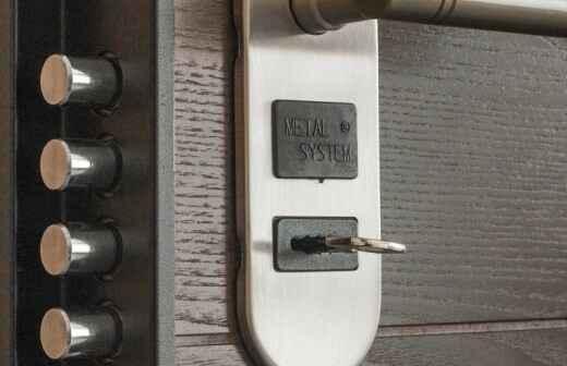 Door Installation - Eingangstürenrahmen Löst Sich
