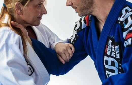 Judo Lessons - Class Of