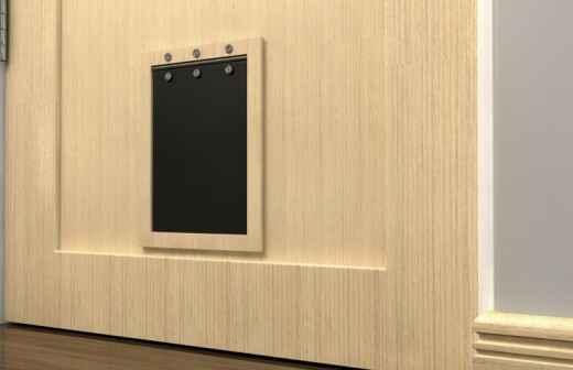 Pet Door Removal - Eingangstürenrahmen Löst Sich
