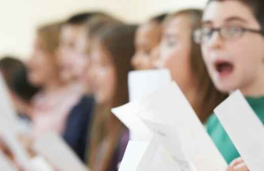 Singing Lessons (for children or teenagers) - Lessons