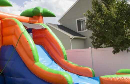 Inflatable Slide Rental - Bouncing
