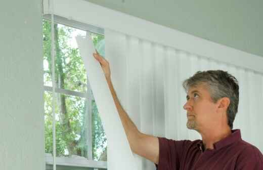 Window Blinds Installation or Replacement - Blinds