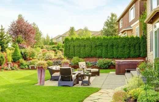 Outdoor Landscaping - Grinder