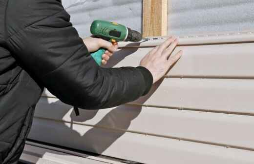 Siding Installation, Repair, or Removal