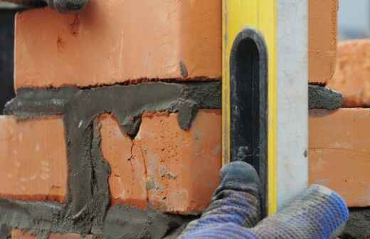 Masonry Construction Services - Tuckpointing