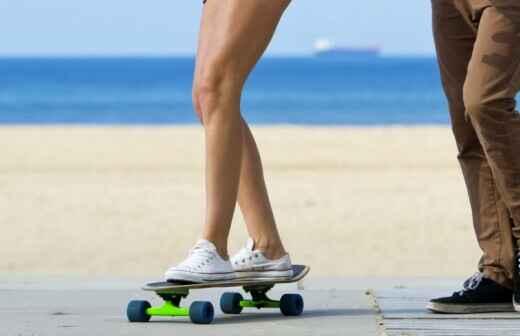 Skateboarding Lessons - Figure
